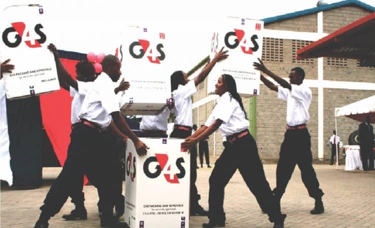 G4S employees Photo: G4S website